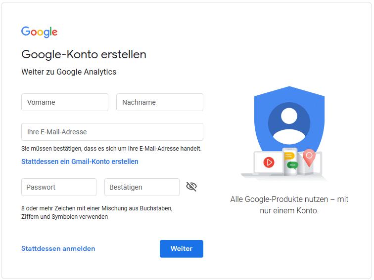 Google Konto Erstellen Kind